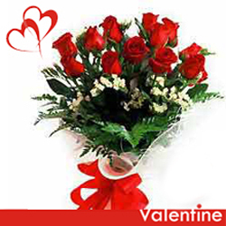 gift red roses online to belgaum