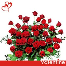send gift online red roses bunch to belgaum