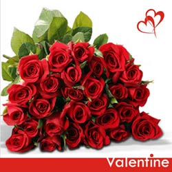gift online red roses bunch to belgaum